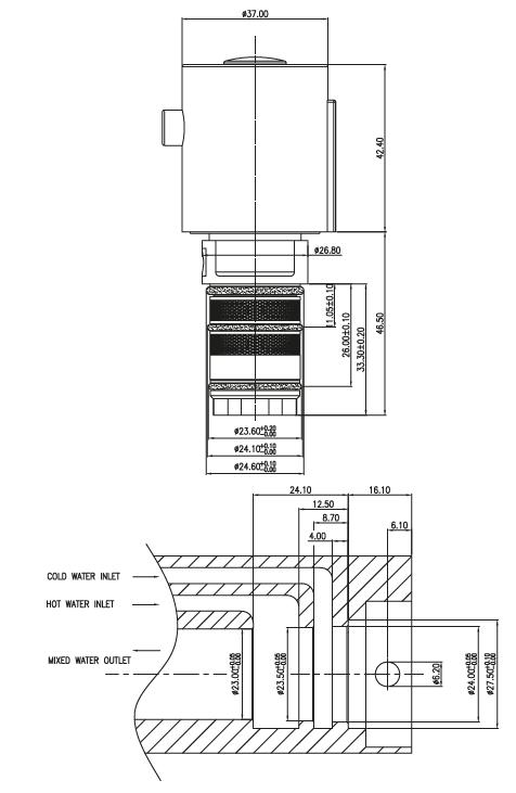CITEC Thermostatic cartridges
